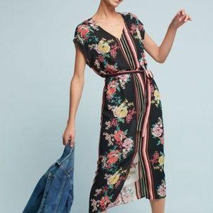 NWOT Anthropologie dRA Floral Dress